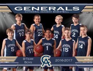 B team Boys Basketball Team