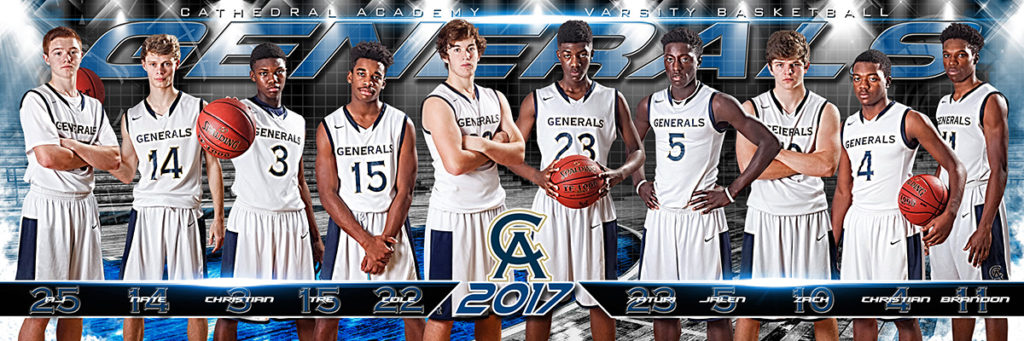 Varsity Boys Basketball Team 2017