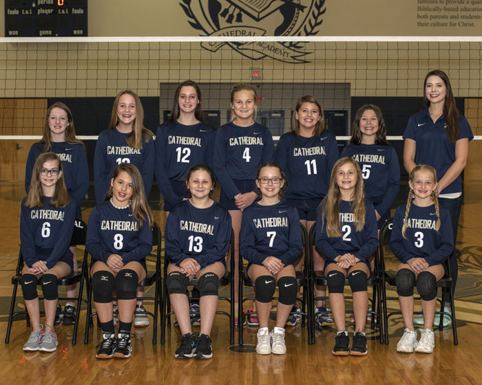 CA B Team Girls Volleyball 2018