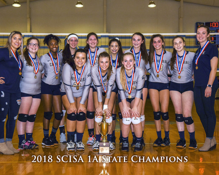 Varsity Volleyball State Champions 2018