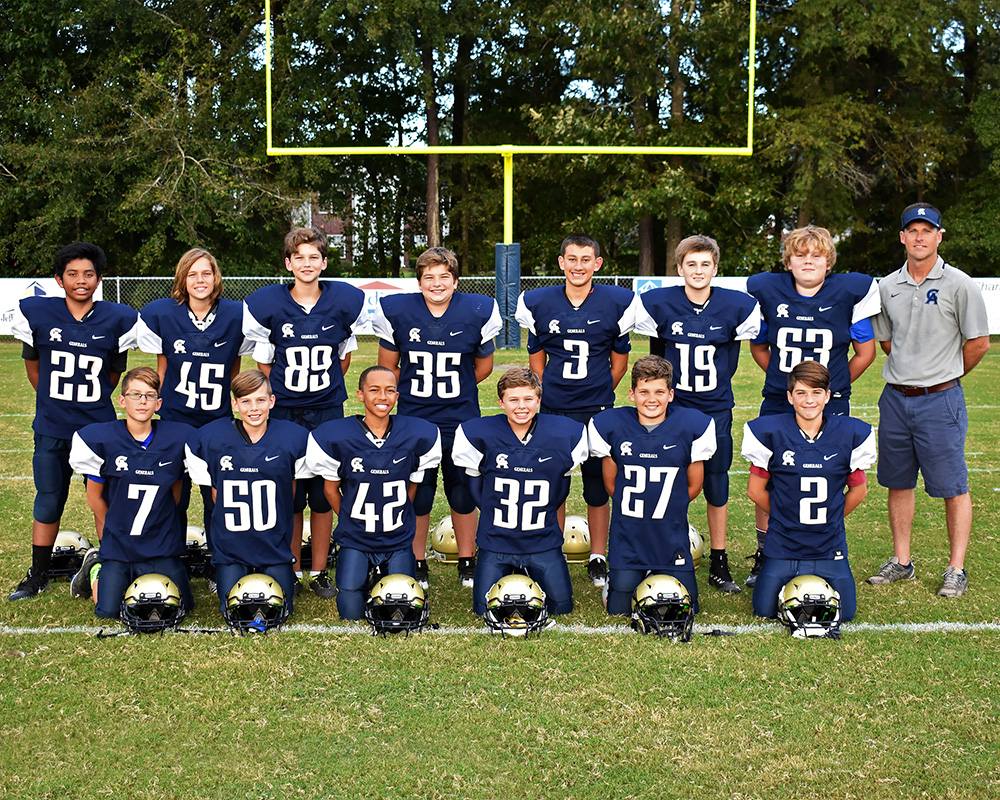 CA JV Football Team 2018