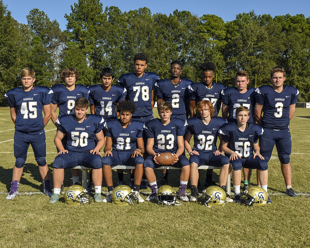 CA Varsity Football Team 2018