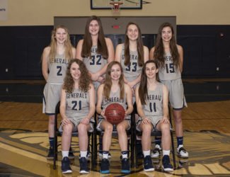 Varsity Girls Basketball 2018-19