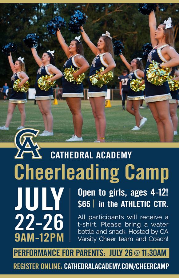 2019 Girls Cheerleading Camp