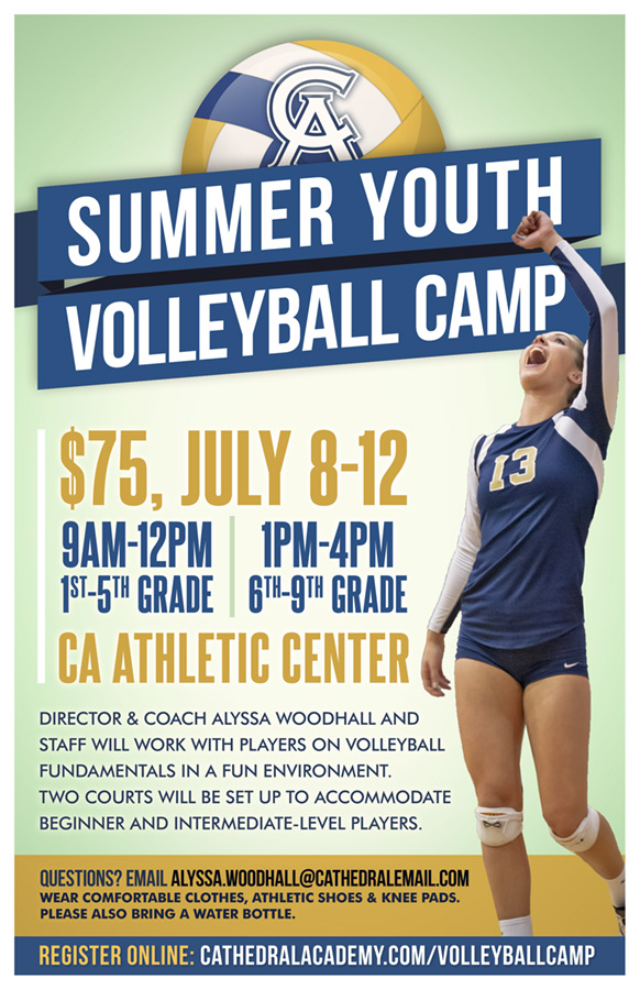 2019 Summer Youth Volleyball Camp